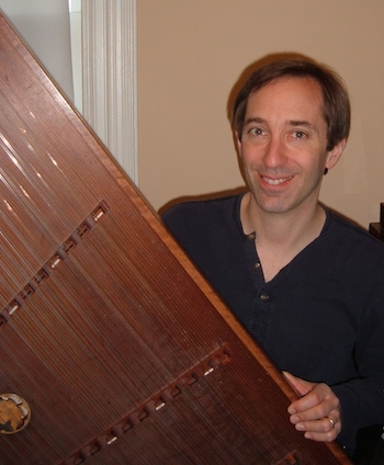Dave Neiman with dulcimer